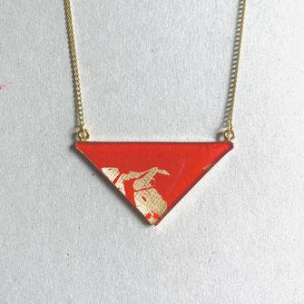 "Triangle Kette ""Individual Item No1"" 35 €"