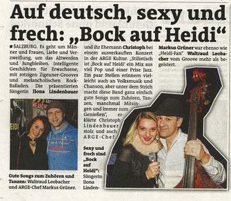 Stadtblatt Salzburg 5./6. Dez. 2012