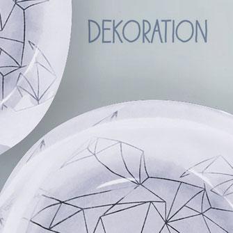 Dekoration: Schüssel aus Bullauge einer Waschmaschine