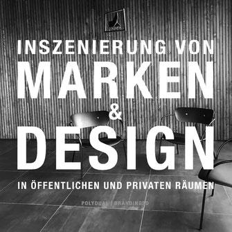 Werbe Botschaft Polydual & branding3D für Marken Inszenierung