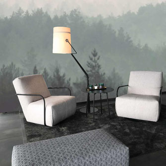 Wandgestaltung mit Fototapete - Wald