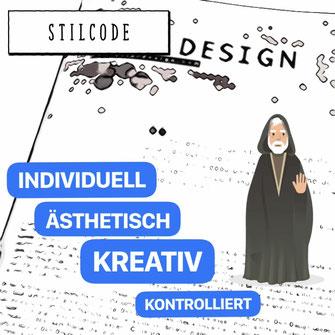 Comic Bild mit Obi Wan Kenobi zum Thema Stilcode
