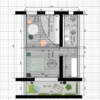PRIVATHAUS_Grundriss_vermasst _ PLANUNG VISIALISIERUNG_SWEET HOME