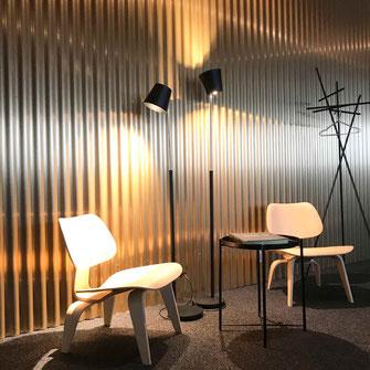 Moderne Arbeitsplatz- und Raum-Gestaltung