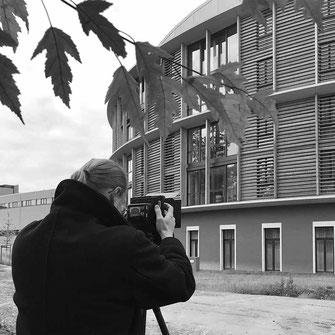 Ben Huggler Photography bei der Arbeit mit Philipp Brunschwiler