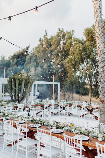 wedding decor photo spain, mallorca