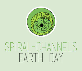 Spiral-Channels Earth Day 2015 Logo designed by David Jimenez from Ecuador
