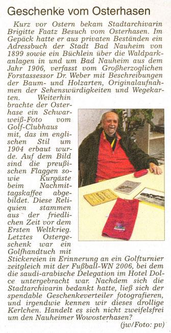 WZ 26.04.2014, Text Jürgen Wagner, Foto: pv