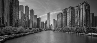 Chicago River & Trump Tower