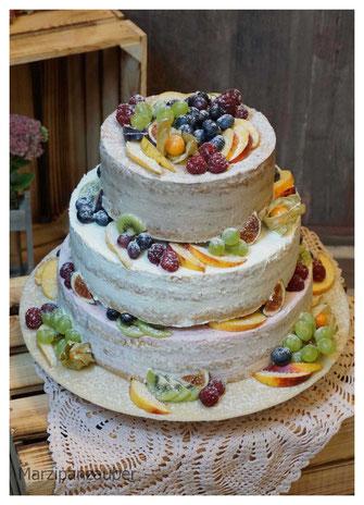 Naked Cake Hochzeitstorte Wedding Cake Lüneburg Winsen Harburg Buchholz