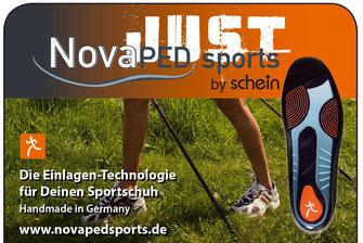 Die Einlagentechnologie für deinen Sportschuh