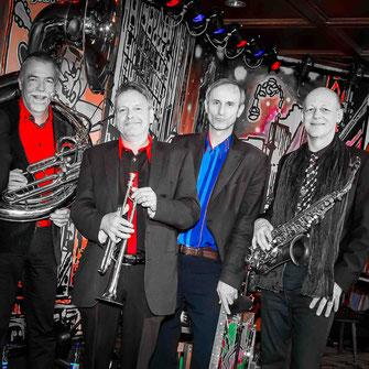 BOURBON STREET Jazz Band spielt auch in Kleinformation