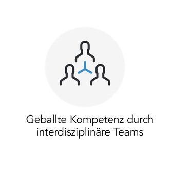 Geballte Kompetenz durch interdisziplinäre Teams
