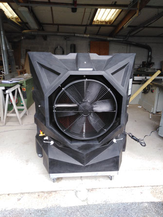 Rafraichisseur d'air mobile pour atelier