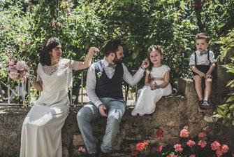Marina, Diego, Lou y Paul| Bodas en el Pueblo