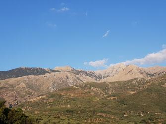 Ebene im Taygetos-Gebirge Höhe ca. 1500m