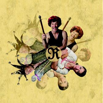 Maria und Ron zeigen das artistisch erzählte Märchen vom Rumpelstilzchen