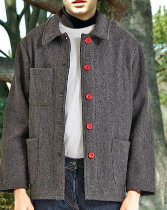 veste travail laine