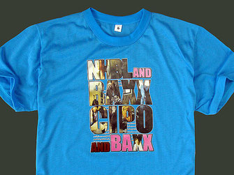 Con la stampa a trasferimento termico si stampano t-shirt di qualità a tirature limitate.