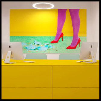 Интерьер обувного магазина Mio
