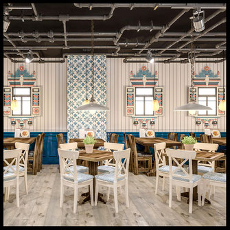 Дизайн и проектирование ресторанов в Москве