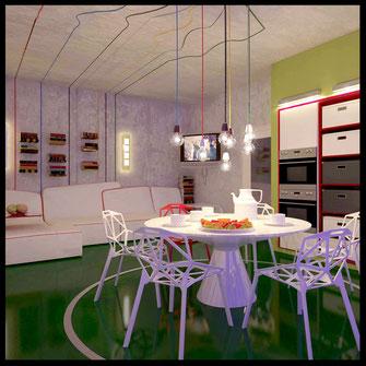 Зеленая квартира