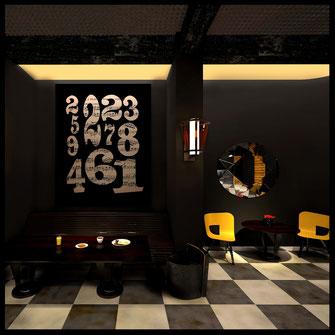 Интерьер ресторана Lounge cafe