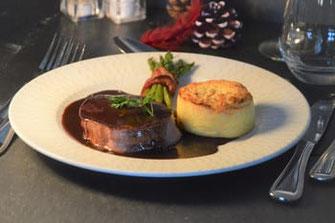 Filet de bœuf Montbéliard repas de fêtes