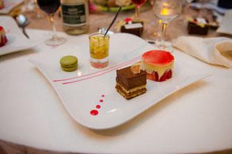 Assiette gourmande dessert des mariés