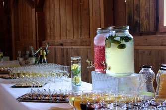 Buffet cocktail apéritif