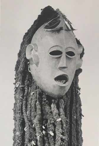 The Kungan-Triplets, Mask 2, Bamileke Mask, Kungan, Pierre Harter, Alain Monbrison