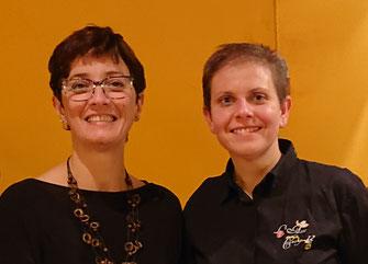 Marlène et Sandrine