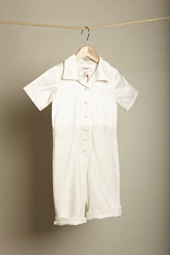 Taufanzug für Jungen aus Seide