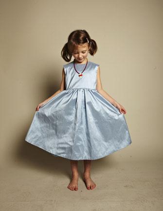 Kinderkleider Martha sky