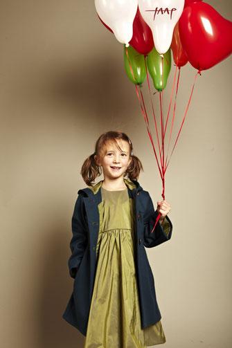 Kinderkleid Martha Luna petrol