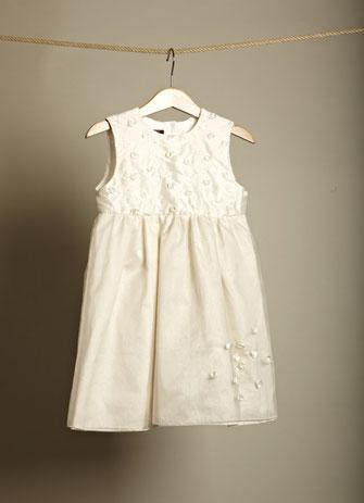 Kinderkleid Linette weiß