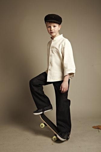 Seidenhemden für Jungs