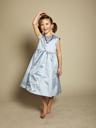 Kinderkleid Martha sky