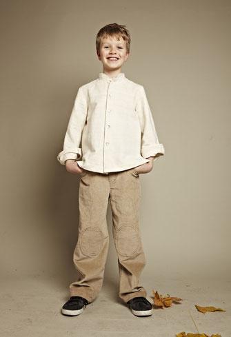 Seidenhemden für Jungen