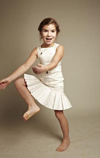 Kinderkleid Cilla ivory