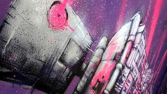 graffiti art streetart chambery lyon rhone-alpes france groupama stadidum birdy kids stade olympique lyonnais OL galerie d'art contemporain urbain artiste graffmatt