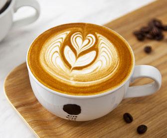 coffee latte art ラテアート