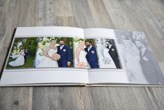 individuellke Hochzeitsalben