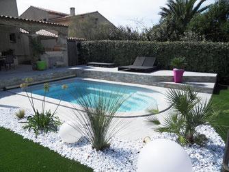 Installation de piscines en coque