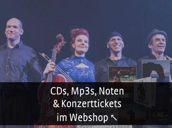 Cello Spielerin mit roten Haaren auf der Bühne, Stilmix, Crossover, Klassik, Pop, Rock, Weltmusik, Filmmusik, Noten, CD kaufen im Webshop