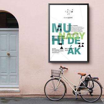 plakát tervezés sevendots studio