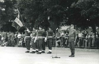 Cérémonie à La Mure, juin 1975