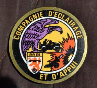 Patch de la C.E.A. (Fonds TANGUY)