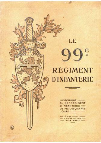 <=    Extraits de l'historique du 99e R.I.   =>