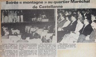 Soirée du 27 mars 1981